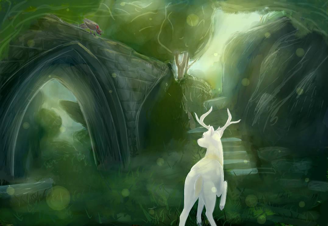Among The Elven Ruins