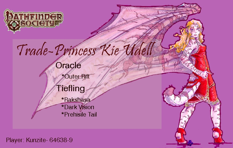 Trade Princess Kie Udell by LossingFeathers