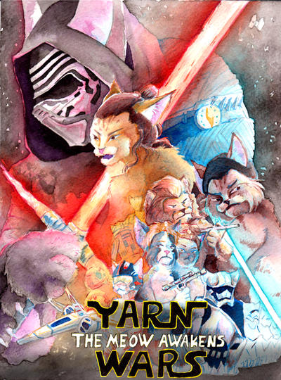 Yarn Wars by LossingFeathers