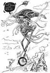 Martian Unicycle