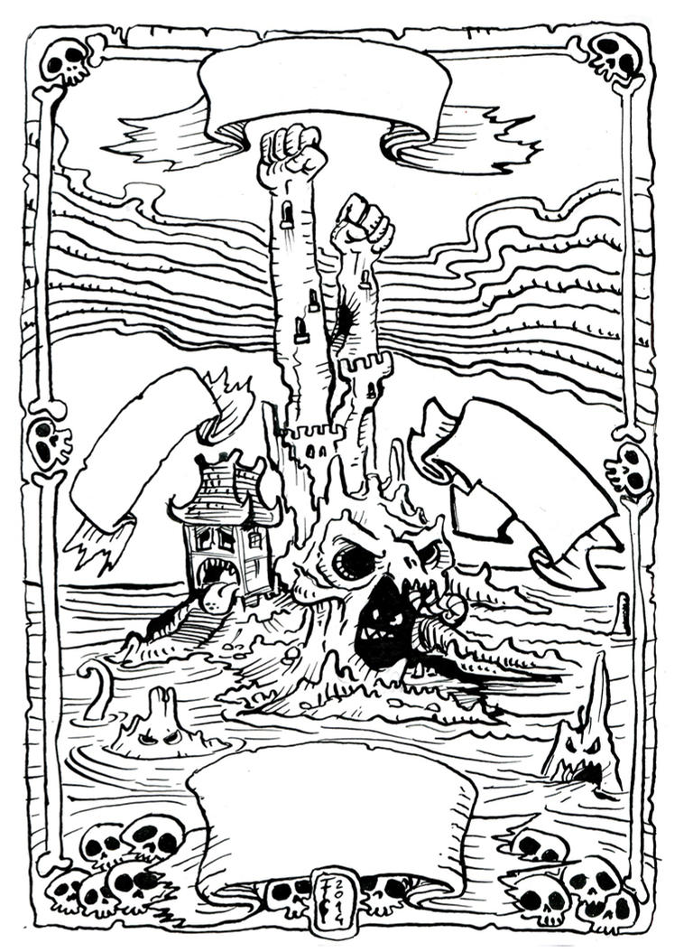 Ye Evil Island of Evily Inks by Clone-Artist
