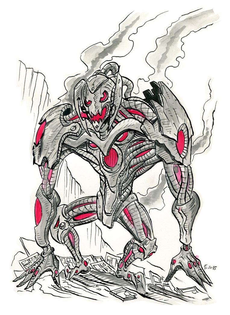 Ultron by Clone-Artist