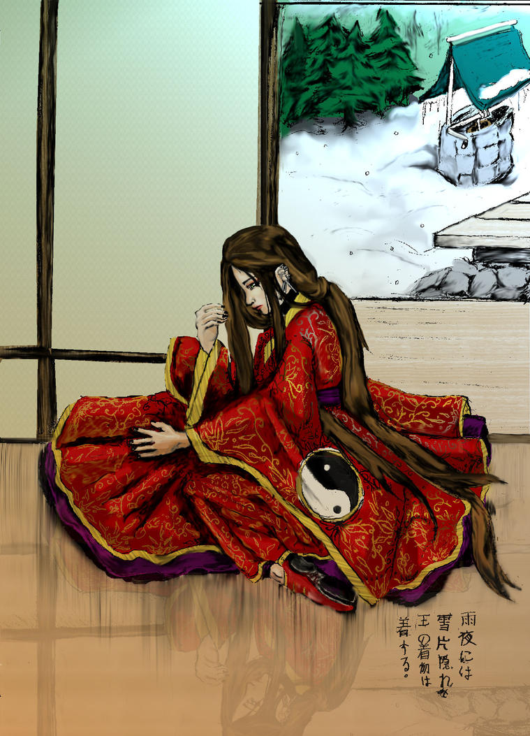 Ameya in Seppengakure by Konekodesu