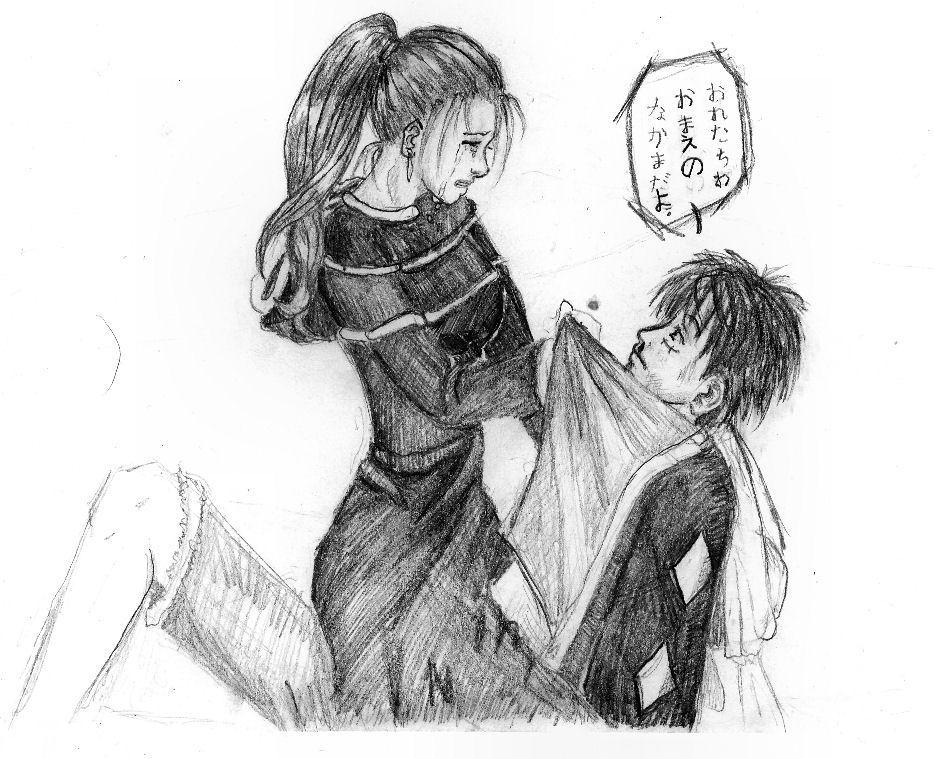 Luffy and Vivi by Konekodesu