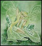 Green Tourmaline by orafaerygirl