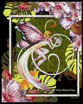 Cherry Blossom Faery Collage