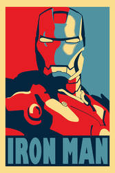Iron Man Poster by Squint911