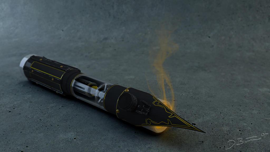 Elder Lightsaber by Squint911