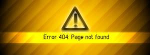 404 Error - Facebook Cover