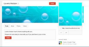 Underwarter - Free Google+ Template