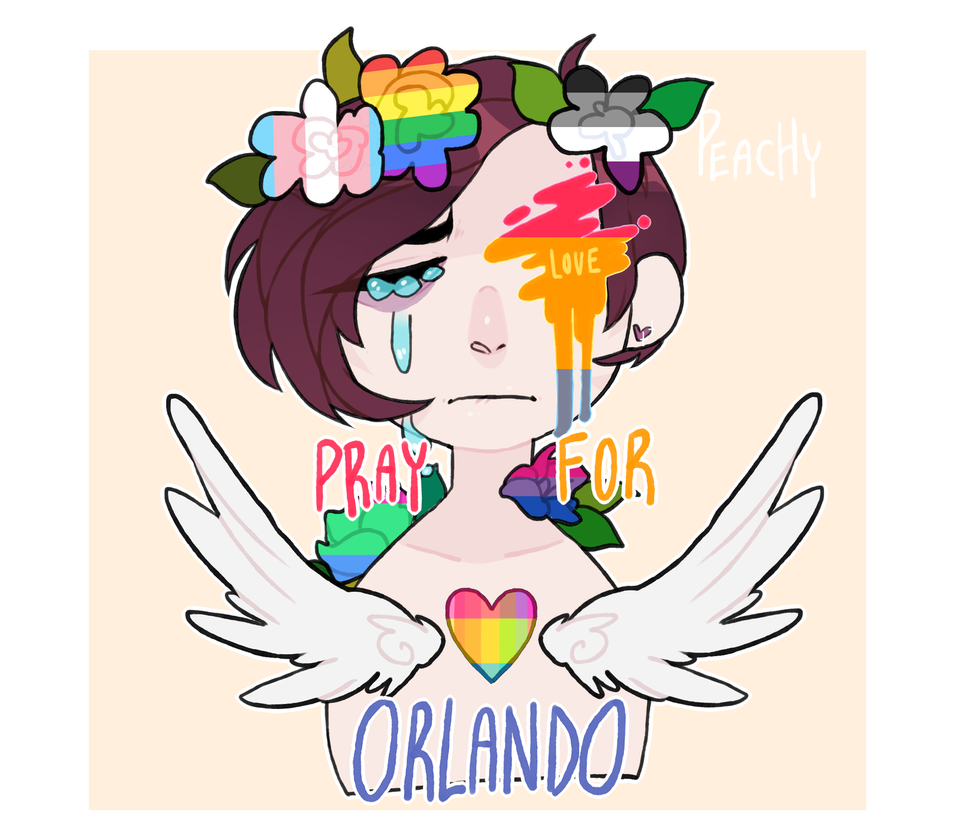 Pray For Orlando by SorryAboutMyAntlers