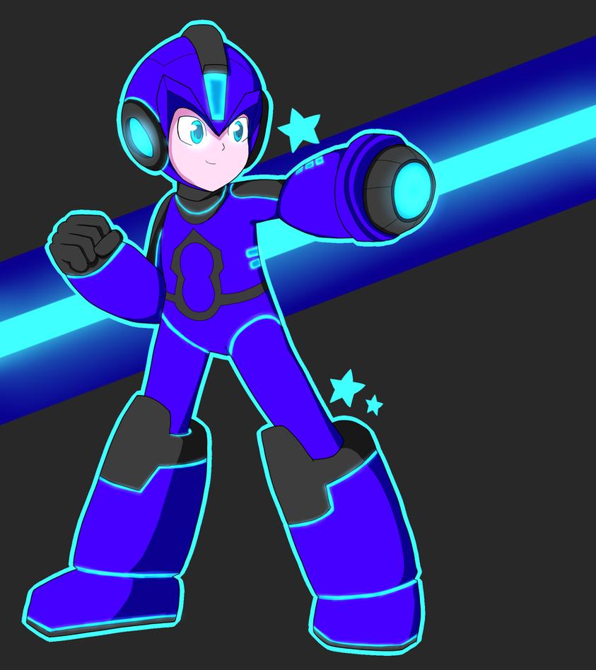 Megaman 2017 by RadicalRaiju