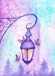 Lantern by KaritaArt