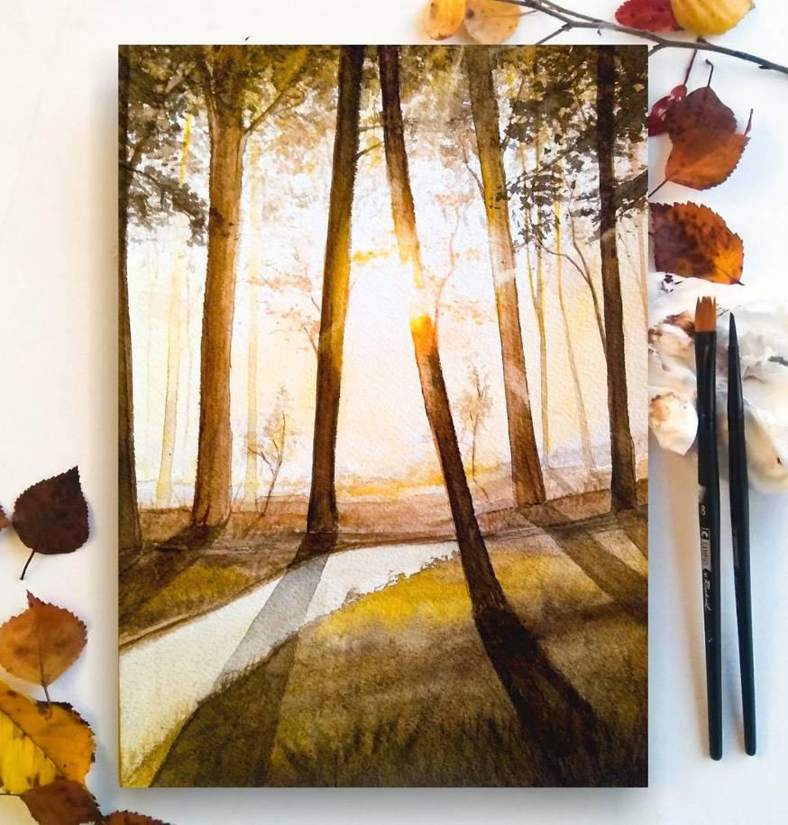 Autumn magic by KaritaArt