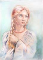 sorceress by ledaryuga