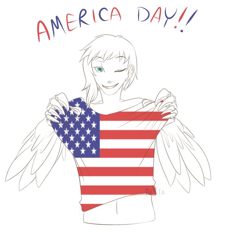 Happy 4th Of July! by Alex-Makoshi
