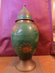 Sunflower Urn 05