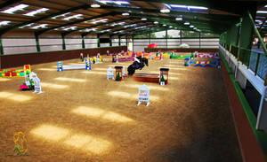 Indoor Show jumping arena