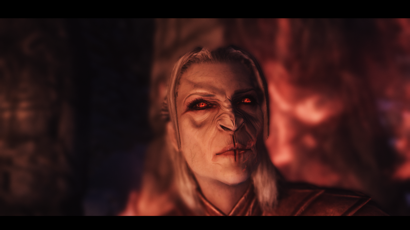 What mod gives me these vampire eyes? : skyrimmods