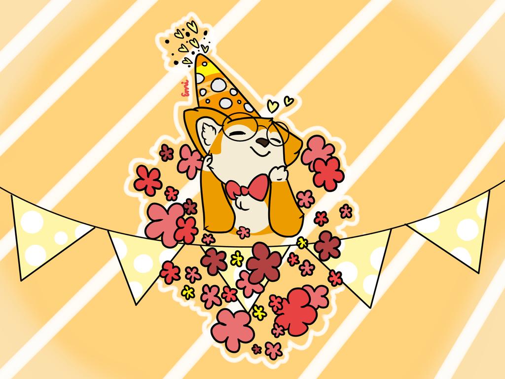 Happy birthday Sinyuki! by Strawberrybearz