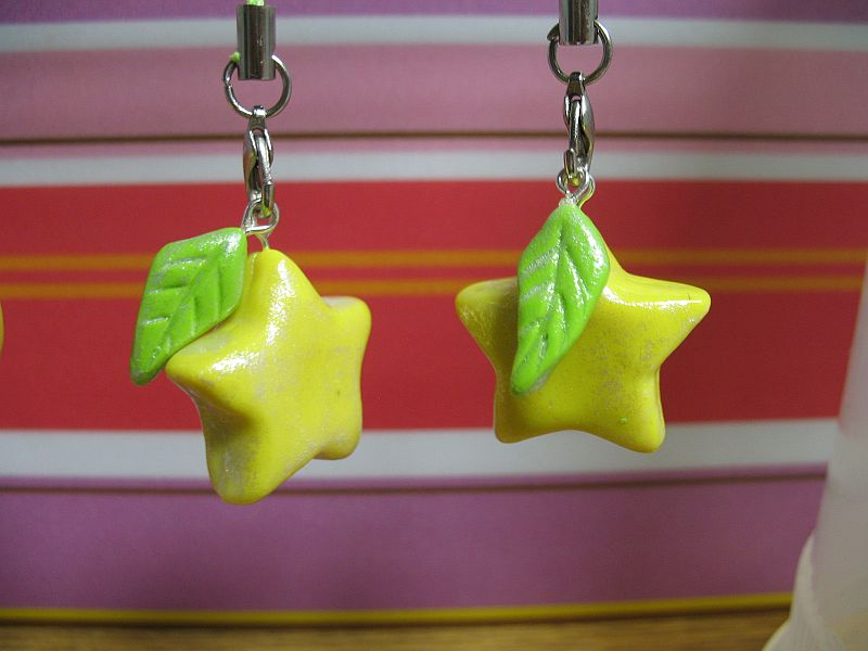 Paopu fruit cellphone charms. by Nogojo