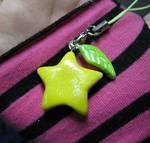 Paopu fruit cellphone charms_2