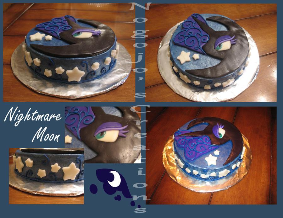 Nightmare Moon Cake by Nogojo on DeviantArt
