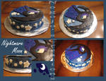 Nightmare Moon Cake