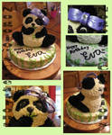 Panda Cake for friend's Birthday