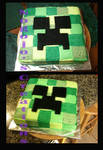 Creeper cake for my little bro