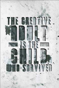 Typography - Creative Adult.