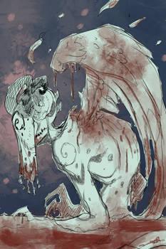 Birth of an Angel illustration