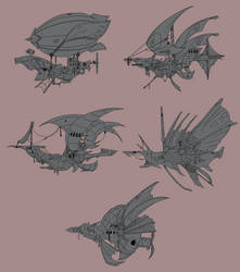 Airships concept game design