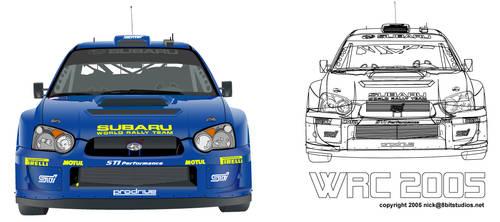 2005 Subaru WRC by s-g-d