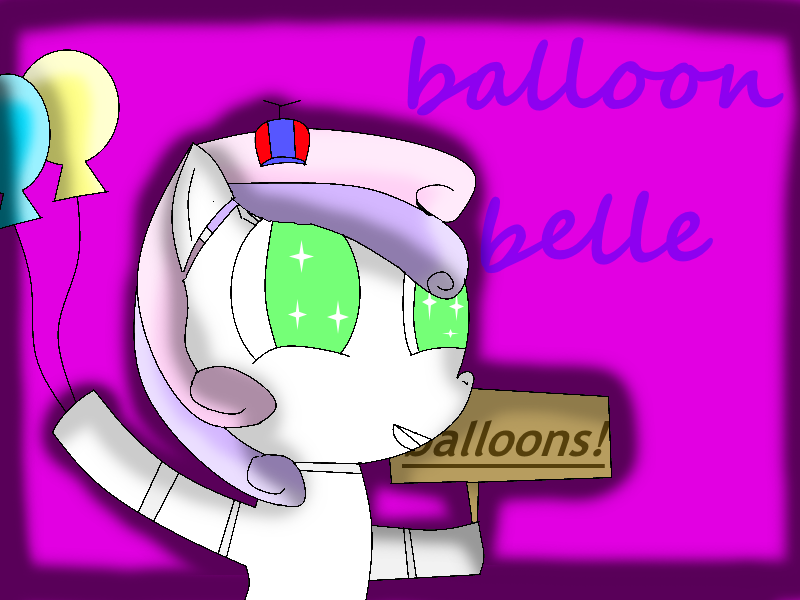Balloon Belle by theshadowpony357