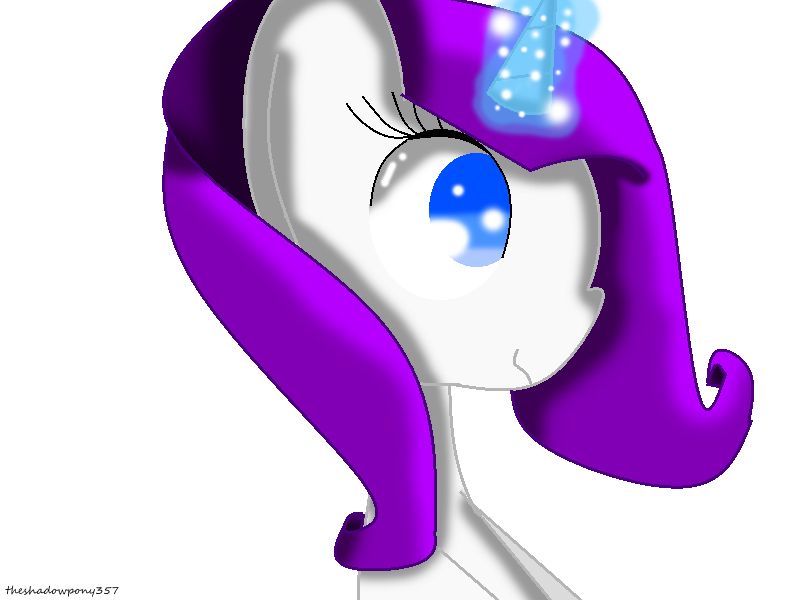 Rarity by theshadowpony357
