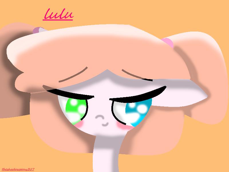 Lulu as a pony by theshadowpony357