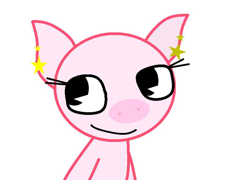 Poppy The Pig by theshadowpony357
