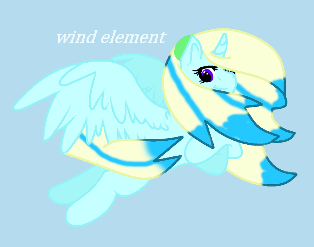 Wind Element by theshadowpony357