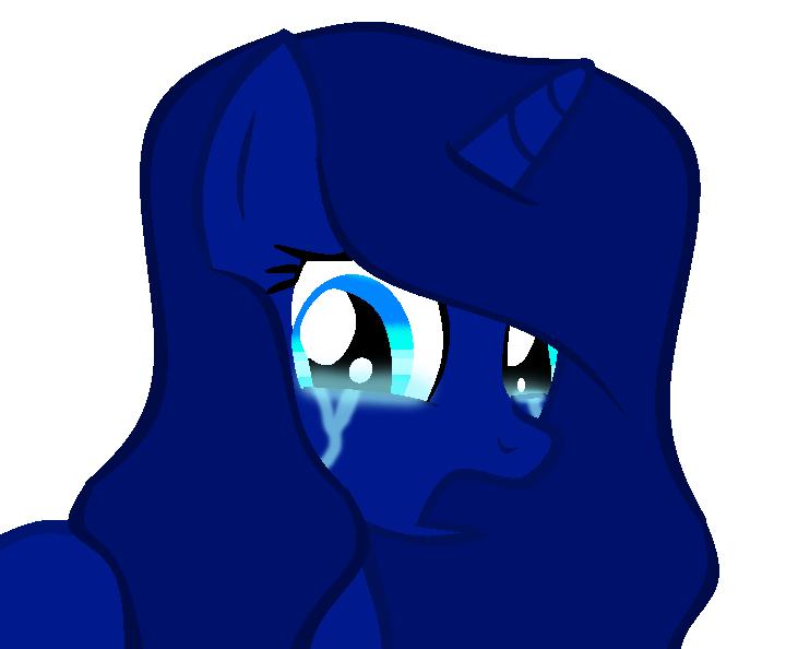 Nightmare Is Sad by theshadowpony357
