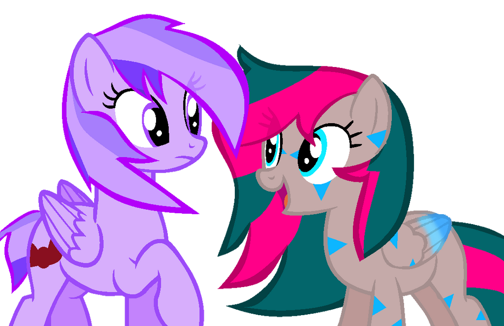 Lavender And Silver by theshadowpony357