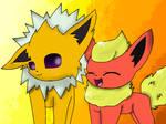 Jolteon And Flareon