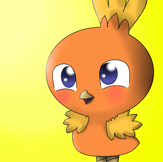 Torchic by theshadowpony357