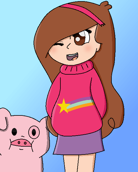 Mable From Gravity Falls by theshadowpony357