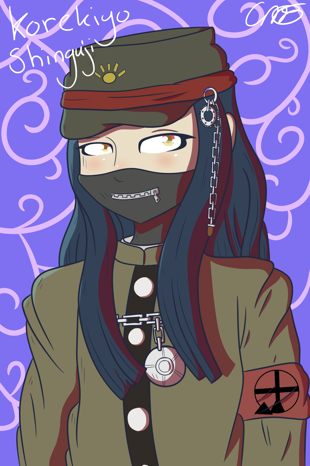 Korekiyo Shinguji by theshadowpony357