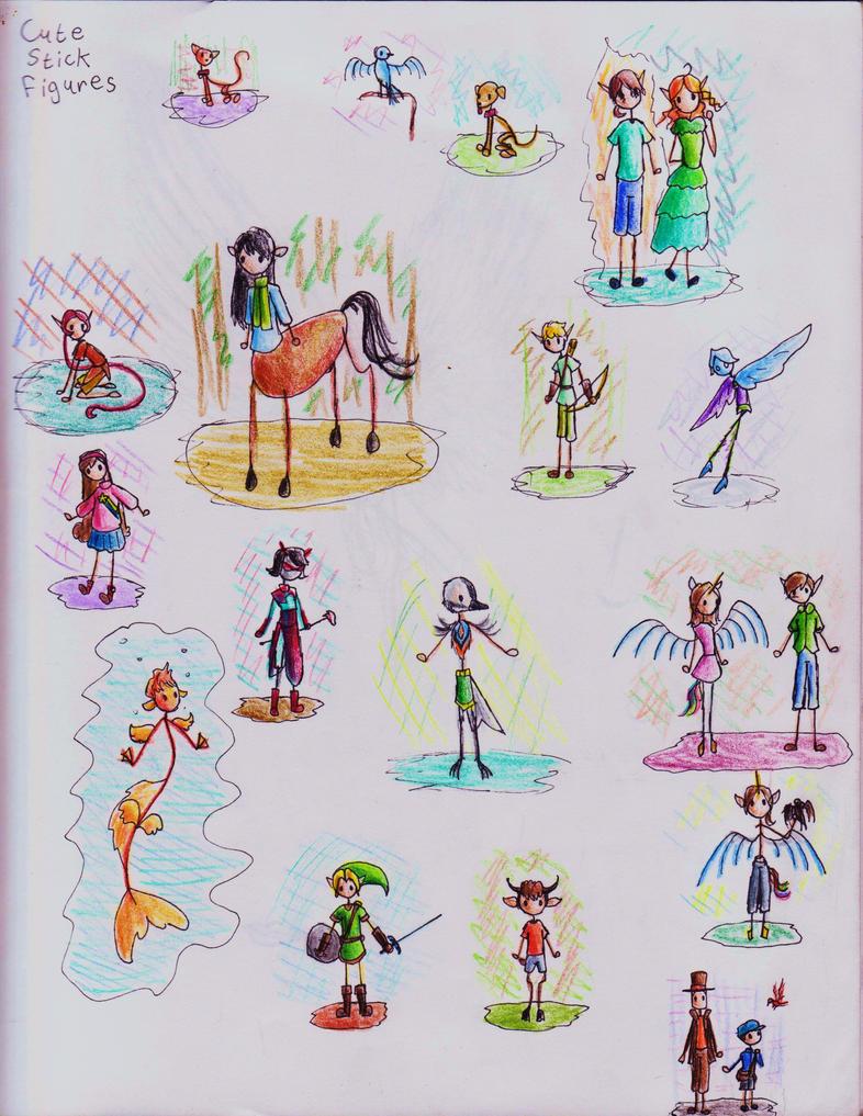 Cute Stick Figures Stick Figure Co...