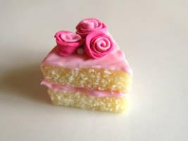 Vanilla Rose Cake Charm by SpadeZ-Ace