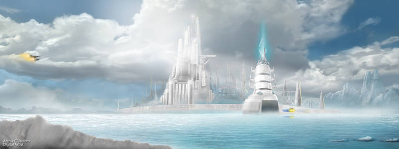 Crystal Ice city