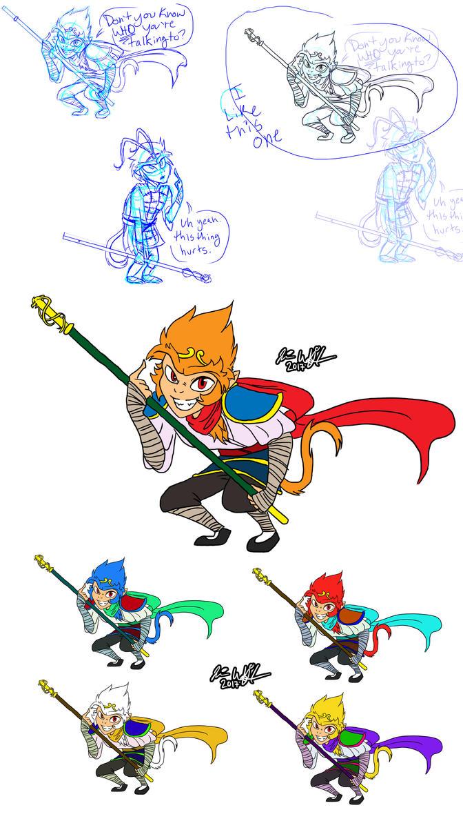 Character Development Design Process : Character development process by ohdormouse on deviantart
