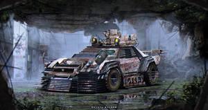 Nissan R34 | Zombie Apocalypse Vehicle by The--Kyza